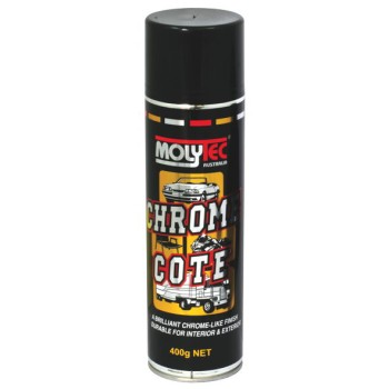 MolyTec Chrome Paint Spray - 400g Can