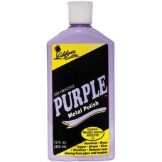 California Custom Purple Metal Polish - 355ml