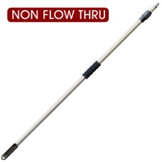 Heavy Duty Telescopic Wash Pole, Non Flow Through - 2.5m