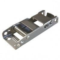 Freighter Curtain Buckle - Stainless Steel