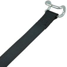 Tautliner Bottom Strap - Black