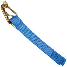 50mm Winch Strap Tail With Hook & Keeper