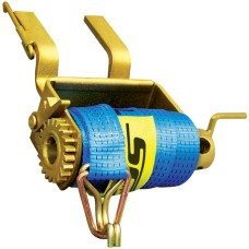 Clip On Single Boss Load Restraint Winch with 50mm x 9m strap
