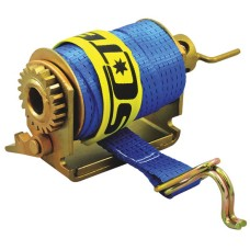 Slide On Single Boss Load Restraint Winch with 50mm x 9m strap