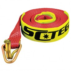 Red Load Binder / Restraint Replacement Straps - 50mm x 9m / 2500kg