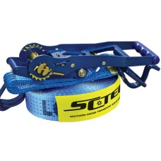 Reverse Action Load Binder / Restraint Ratchet Strap - 50mm x 9m
