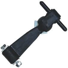 Heavy Duty Rubber Bonnet Clamp with Chrome Plated Fittings