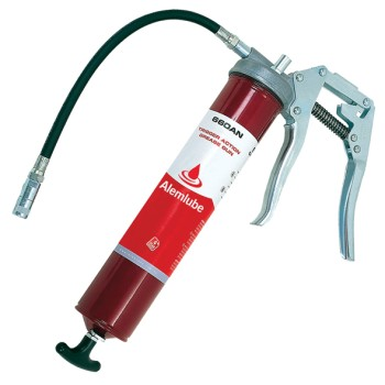 Alemlube Heavy Duty Trigger Grease Gun. Suits 450g Cartridge