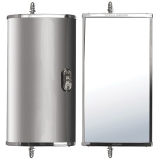 Westcoast Style Mirror Head - Left Hand Side / Motorised & Heated With Light