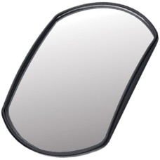 140mm Rectangular Convex Self Adhesive Spot Mirror