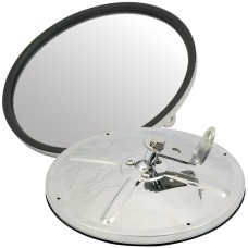 190mm Round Spotter / Reversing Mirror - Bolt On