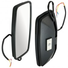 430mm 12V Heated Mirror - Left Hand Mount