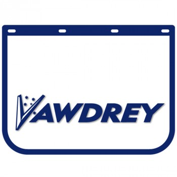 "Anti Spray Ribbed Mudflap - 24"" Wide x 18"" High - Vawdrey"