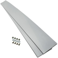 Plastic Mudguard Dress Strip Kit, Stainless Steel - Lelox