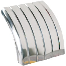 Lelox Ribbed Quarter Guard - Stainless Steel