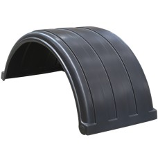 Dynaplas Original Plastic Mudguard - 630mm Wide - Black