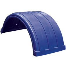 Dynaplas Original Plastic Mudguard - 630mm Wide - Dark Blue