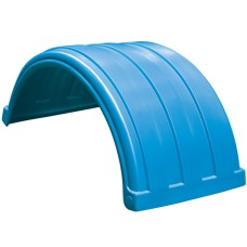 Dynaplas Original Plastic Mudguard - 630mm Wide - Light Blue
