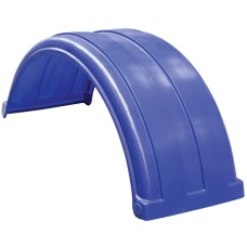Dynaplas Super Single Plastic Mudguard - 470mm Wide - Dark Blue
