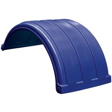 Dynaplas Low Profile Plastic Mudguard - 630mm Wide - Dark Blue