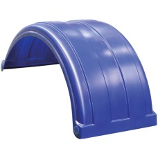 Dynaplas Light Truck Plastic Mudguard - 520mm Wide - Dark Blue