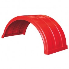 Truckmate Plastic Mudguard - 620mm Wide - Red