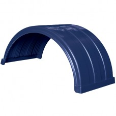 Truckmate Plastic Mudguard - 620mm Wide - Dark Blue
