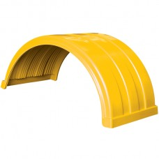 Truckmate Plastic Mudguard - 620mm Wide - Yellow