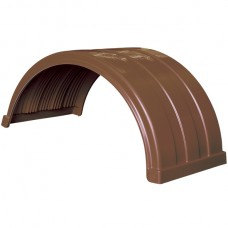 Truckmate Plastic Mudguard - 620mm Wide - Brown