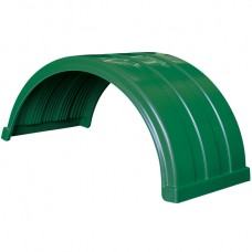 Truckmate Plastic Mudguard - 620mm Wide - Dark Green