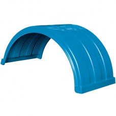 Truckmate Plastic Mudguard - 620mm Wide - Light Blue
