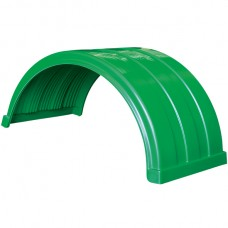 Truckmate Plastic Mudguard - 620mm Wide - Light Green