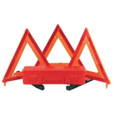 Emergency Warning Safety Triangle Kit - Boxed Set of 3