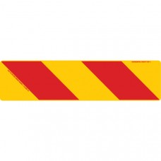 ZEBRA Right Hand Rear 600 x 150mm Class 1 Reflective Sign - Aluminium Plate