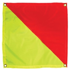 Flag Red & Yellow with Eyelets