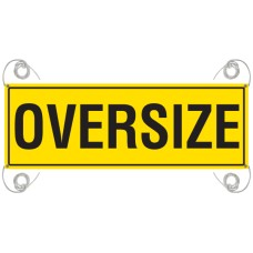 OVERSIZE 1200 x 450mm Reflective Banner - Vinyl Canvas