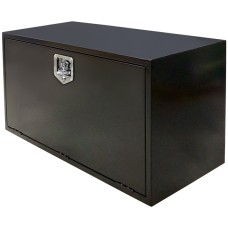 Truck & Trailer, Black Powder Coated Toolbox - 915mm (W) x 610mm (H) x 560mm (D)