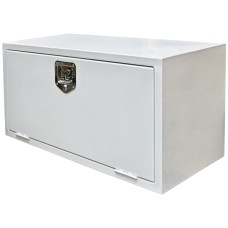 Truck & Trailer, White Powder Coated Toolbox - 915mm (W) x 457mm (H) x 406mm (D)