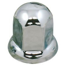 Chrome Standard Nut Cover - 33mm Flared