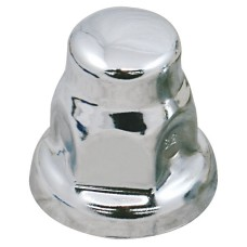 Chrome Nut Cover - 32mm Flat Top