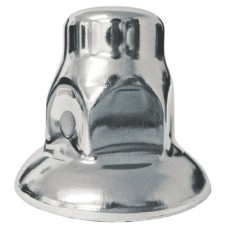 Chrome Nut Cover - 33mm Flared