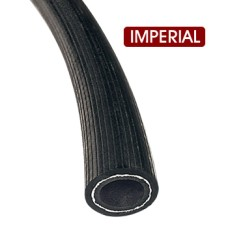 "Rubber Air Brake Hose 1/2"" - Black (per metre)"