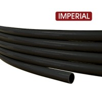 "Rubber Air Brake Hose 1/2"" - Black 20m Roll"