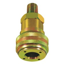 Airline Connector Coupling - Self Sealing Male