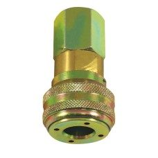 Airline Connector Coupling - Self Sealing Female