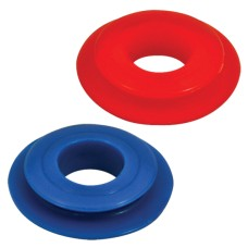 Red & Blue Polyurethane Seal Kit - Suit Gladhand Coupling
