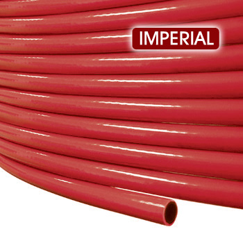 "Nylon Air Brake 3/8"" Tubing Imperial  - Red 250m Roll"