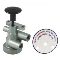 Auto Shut Off Spring Brake Hand Control Valve - Suit Sealco