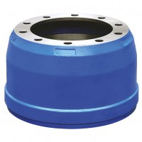 "Brake Drum, 335 PCD / 16.5"" x 7"" - 10 Stud York"