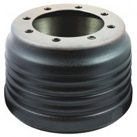 Brake Drum, 275mm PCD / 380mm x 230mm - 275 x 8 Stud Centrifused Hendrickson